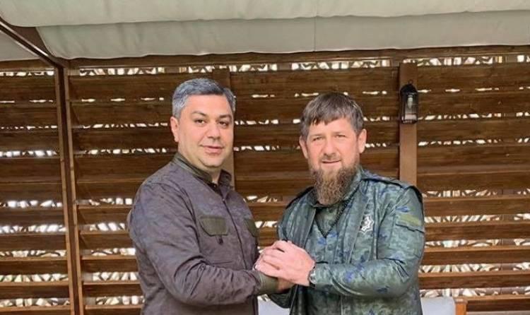 Image result for Артур Ванецян и рамзан кадыров