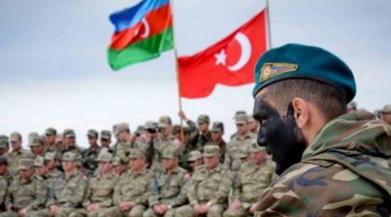 Совместные турецко-азербайджанские военные учения направлены на ...